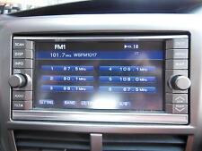 SUBARU IMPREZA RADIO/ CD PLAYER & SAT NAV , 08/07-11/11