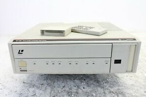 PhilipsLaservision extended disc drive VP412 /w remote & cartridge (No.3)