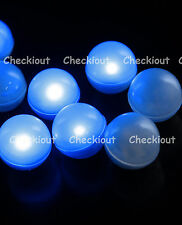 48 LED Blue Mini Fairy Lights Waterproof Floating Ball Party Wedding Decorate