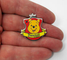 Winnie The Pooh Disneyland Hidden Mickey Crest Collection Tie Tack Hat Lapel Pin