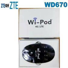 WiPod ZTE WD670 MIFI Wireless Router Hotspot Cat4 4G LTE 850 / 1800 / 2300 MHZ