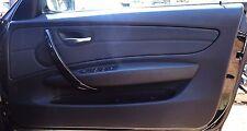 BMW Door Trim/Card Full Set E88 Convertible Black OEM