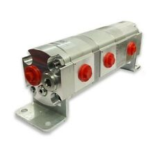 Geared Hydraulic Flow Divider 3 Way Valve 60ccrev With Centre Inlet