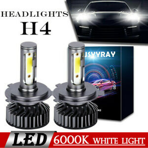 H4/9003 LED Headlight 2 Bulbs Conversion Kit For Mitsubishi Fuso Truck 2005-2017