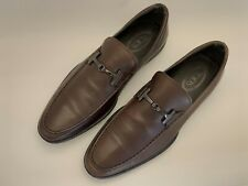 A pair of TODS, brown leather men's shoes, size 44
