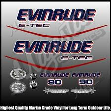 Evinrude ETEC - 90hp - OUTBOARD Decals