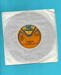 """EATER ~ OUTSIDE VIEW. UK 1977 vinyl 7"""". Punk. EX/VG."""