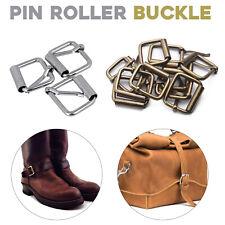 Metal Pin Roller Belt Buckle Adjustable Heavy Duty Leather Hand Bag Shoe Strap