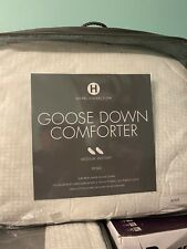 HOTEL COLLECTION  GOOSE DOWN COMFORTER MEDIUM WEIGHT KING