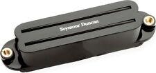 Seymour Duncan SCR-1b Cool Rails Dual Coil Humbucker Strat Bridge Pickup, Black