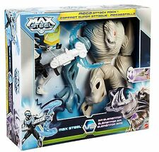 Max Steel - Mega Attack Max Steel and Air Elementor Figures, BNIB, Boys Gift Toy