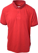 Timberland Men's Red S/S Polo Shirt (Retail $55) S04