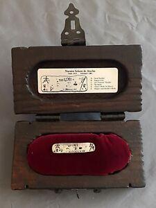 Antique Atocha Silver Ingot 1600s Mel Fisher SUNKEN TREASURE Salvors Limited