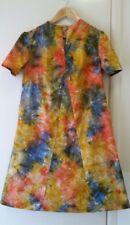 NWOT Retro inspired Tie Dye A-line dress, size 12-14