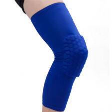 Honeycomb Pad Crashproof Antislip Basketball Leg Knee Sleeve Protectorgear D5p Black M