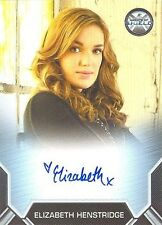 2015 Marvel's Agents Of S.H.I.E.L.D Season 2 Elizabeth Henstridge Autograph Card