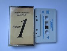PSALMS SET TO MUSIC BY IAN WHITE CASSETTE, 1985 LITTLE MISTY MUSIC, PLAY TESTED.
