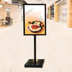 1x Plakatständer Standfuß Display Boden Stehende Verstellbare Schild Halter 5kg