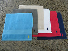 Polo RALPH LAUREN Greenwich Wash Cloth Signature Polo Pony Player Logo