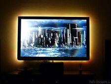 TV LED Licht Streifen BELEUCHTUNG 60 LEDs Monitor Fernseher Hintergrund Smart
