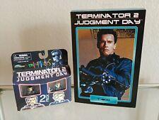 NECA T-800 TERMINATOR Ultimate T2 Judgment Day ORIGINAL! & MINIMATES 2 pack open
