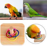 Pet Supplies Bite Toys Wooden Parrot Bird Chew Toy Intelligence Training