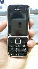 Original Unlocked Black Nokia C2-01 3G Hebrew Keyboard Mobile GSM WCDMA Phone