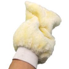 Nuevo guante de lavado de microfibra 1x cm cuidado de coche de Lana Guante Lavado a Mano Limpiador Suave UK
