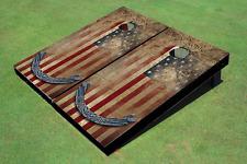 Constitutional Flag Cornhole Board set