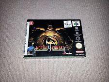 Mortal Kombat 4 Nintendo 64 N64 Game, PAL Boxed, Cleaned & Tested