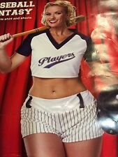 Baseball Player Adult Costume Size M  12-14