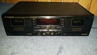Pioneer CT-W704RS Cassette Deck With Dolby S Noise Reduction. {{{REFURBISHED}}}