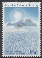 Australian Antarctic Territory postfris 1986 MNH 73 - Verdrag Ancarctic