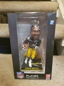 RARE..Jerome Bettis Pittsburgh Steelers 2015 BUS base BobbleHead Ltd Ed 198 made