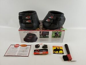 Cavallo Simple Hoof Boot for Horses, Size 5, Black S80-5 Simple Regular Leather