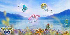 Pokemon Go Lake Trio Uxie Mesprit Azelf Guaranteed Catch/RemoteRaid✔️ShinyChance