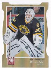 11-12 Panini Elite Tim Thomas /99 Status Die-Cut Bruins 2011
