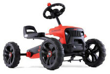 Berg Buzzy Jeep Rubicon Kids Pedal Car Go Kart Red / Black 2 - 5 Years New