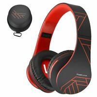 PowerLocus Bluetooth Over-Ear Headphones, Wireless Stereo Foldable Headphones