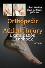 Orthopedic and Athletic Injury Examination Handbook, Brown MS  ATC, Sara D., Sta