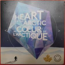 New 2013 Canada 4 Arctic Expedition 25 Cents Empty Folder