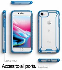 [50pcs/lot] For iPhone 8 / 7 Case Blue Poetic【Affinity】Soft Shockproof TPU Cover