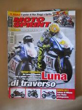 MOTOSPRINT n°44 2010 poster Max Biaggi e Aprilia  [MS10]