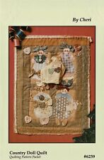 "Button Babies ""Country Doll Quilt"" Pattern By Cheri"