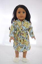 "pirate treasure island pajama robe fits 18 "" dolls and american girl dolls."