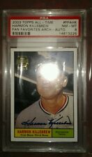2003 TOPPS ALL-TIME FAN FAVORITES Autograph  #FFAHK HARMON KILLEBREW HOF PSA 8