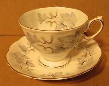 Royal Albert Silver Maple Teacup & Saucer