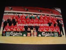 LIVERPOOL FC 2001 TREBLE FOWLER GERRARD OWEN HOULLIER