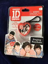 New 1D One Direction Singing Keychain What Makes You Beautiful & One Thing