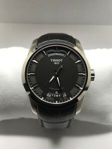 Tissot T035.407.16.051.00 Couturier Automatic Black Dial Men's Watch